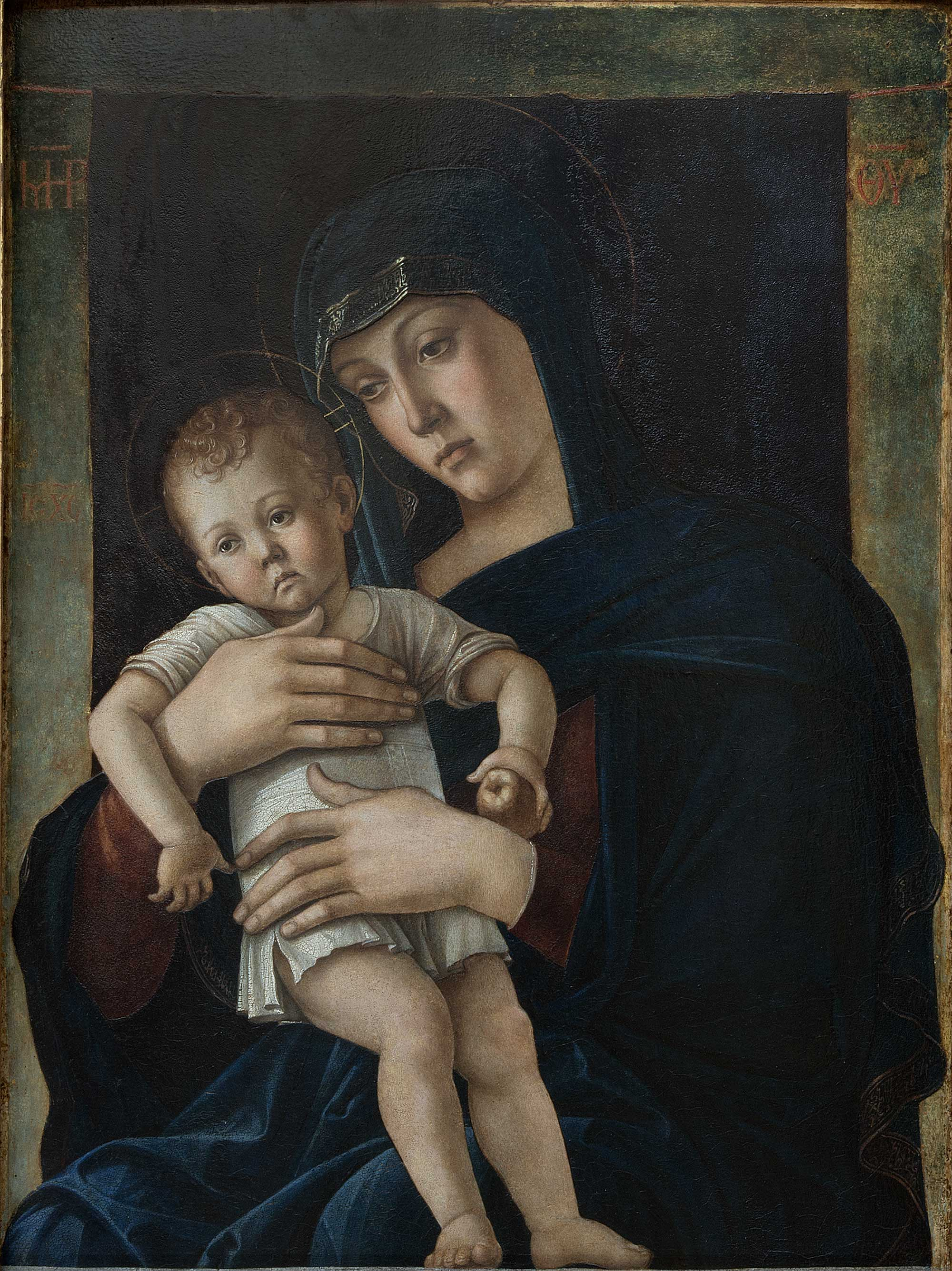 Madonna And Child Painting Art Of The Renaissance