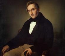 Portrait of Alessandro Manzoni