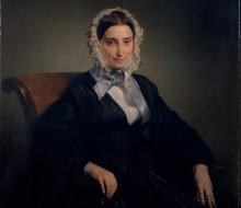 Portrait of Teresa Manzoni Stampa Borri