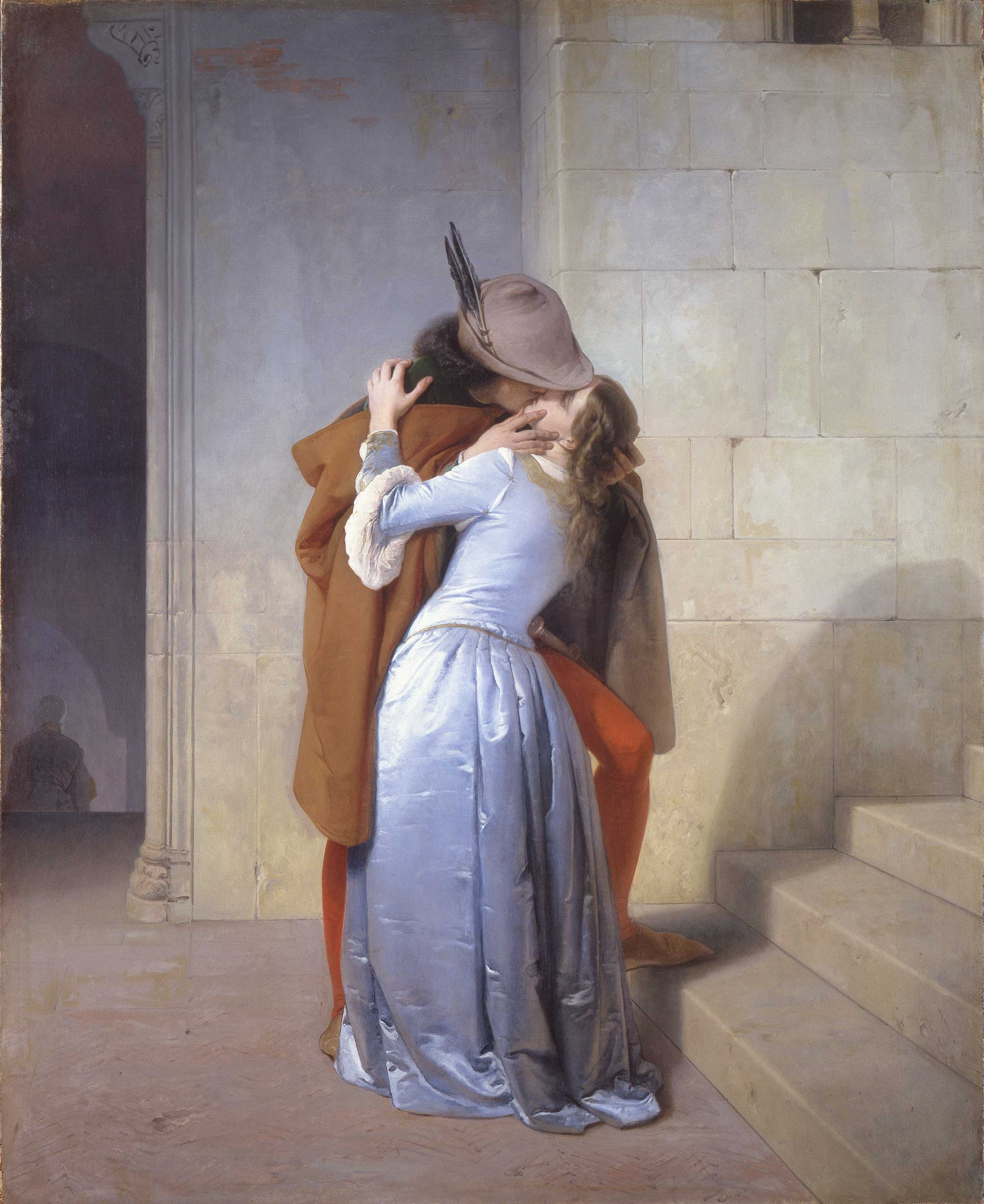 Il bacio, Francesco Hayez