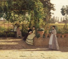 After Lunch (The Trellis)