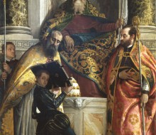 Saint Anthony the Abbot with St. Cornelius and St. Cyprian