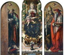 Madonna col Bambino e i Santi Pietro e Paolo, Ansovino e Gerolamo (Madonna della Candeletta)