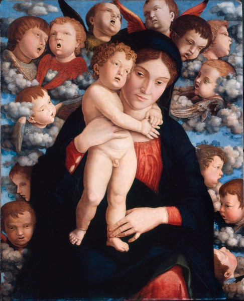 Madonna and Child with a Choir of Cherubim (Madonna of Cherubim)
