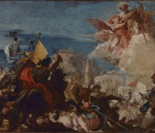 Saints Faustinus and Jovita Appear in Defense of Brescia under Attack from Niccolò Piccinino in 1438