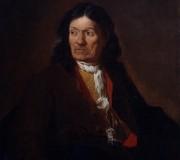 Ritratto di Gervasio Ligari, padre dell'artista