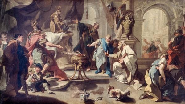 Annibale giura odio ai Romani
