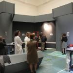 Allestimento della mostra Puskin