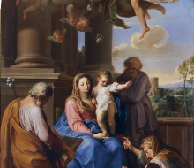 Madonna con il Bambino e i Santi Giuseppe e Zaccaria, Elisabetta e Giovannino
