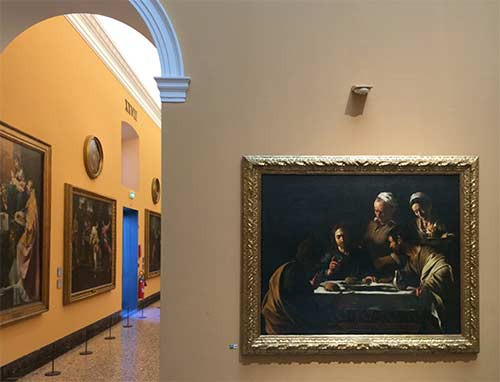 Amateur Photographs in the Pinacoteca