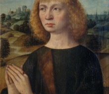 Portrait of a Man Praying