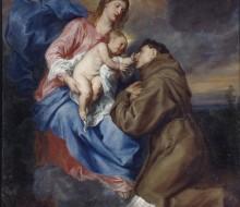 La Madonna col bambino e Sant'Antonio da Padova