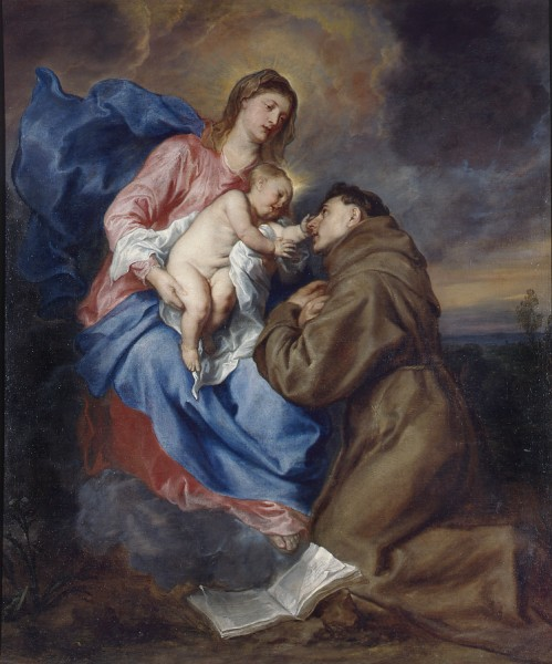 Madonna and Child with St. Athony of Padua