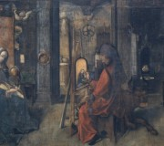 San Luca dipinge la Vergine col Bambino
