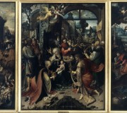 The Tryptich of the Adoration of the Magi