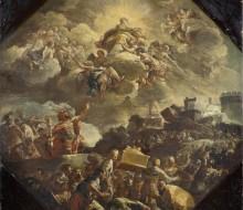 Il trasporto dell'Arca Santa