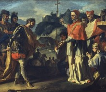The Meeting between King Rachis of the Longobards and Pope Zacharias during the Siege of Perugia