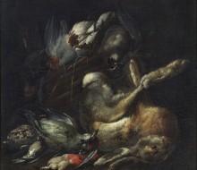 Cacciagione con lepre