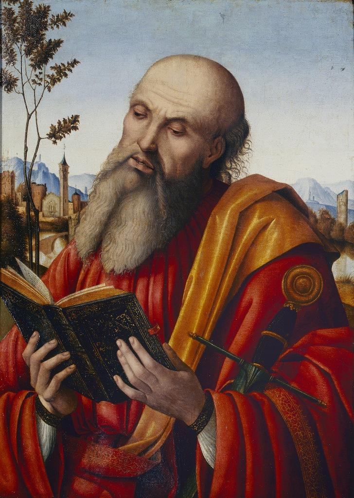 saint paul pinacoteca di brera