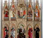 Madonna and Child with Angels and saints (Gualdo Tadino Polyptych)