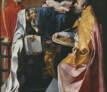 Madonna and Child with Saints Lawrence, Nicholas and Francis of Rome