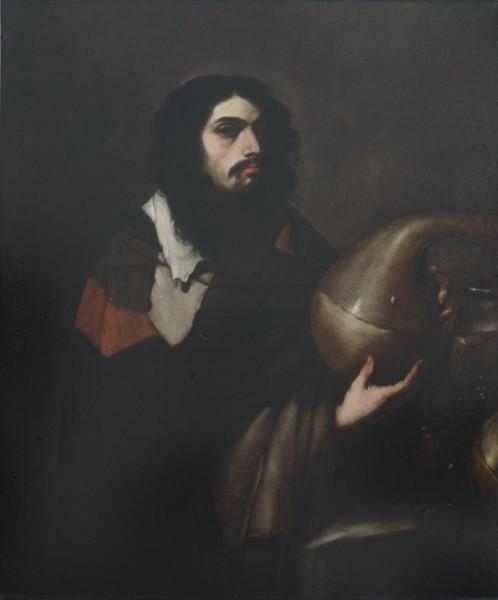 Autoritratto di Luca Giordano in veste di chimico o alchimista