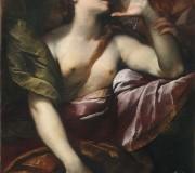 La Maddalena penitente e un angelo
