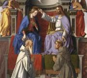 L'incoronazione della Vergine con i Santi Francesco e Benedetto