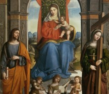 Madonna and Child with St. James of Galicia and St. Helena