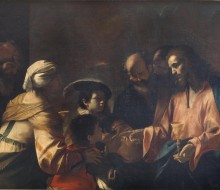 A Mother Entrusting Her Sons to Christ