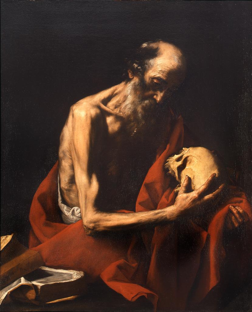 Saint Jerome In Meditation Pinacoteca Di Brera