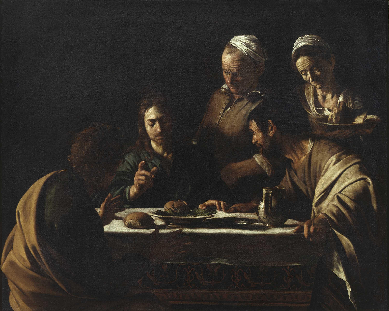 Supper at Emmaus   Pinacoteca di Brera