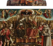 Coronation of the Virgin with the Holy Trinity and saints
