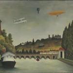 Henri Rousseau, Veduta del ponte di Sèvres, 1908