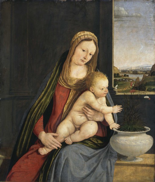 Madonna of the Carnations