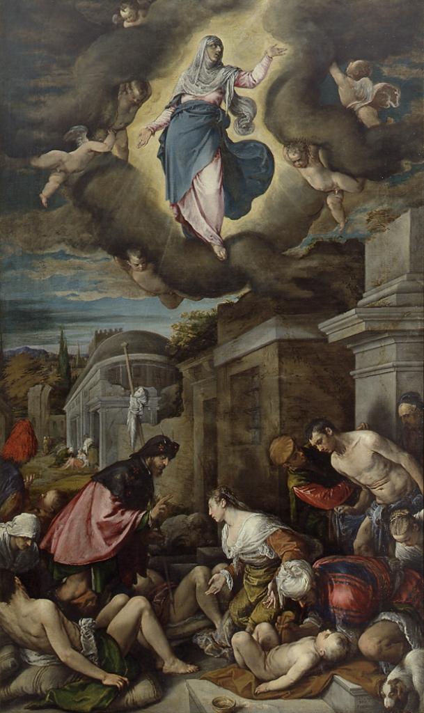 Картинки по запросу jacopo bassano saint roch