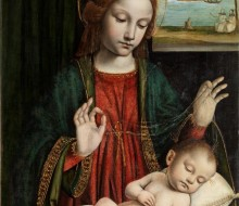 Madonna and Sleeping Child (Madonna del velo)