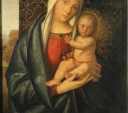 Madonna and Child with a Bird