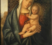 Madonna and Child Playing with a Little Bird