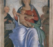 "Madonna and Child with Two Angels (""Soli Deo"" Madonna)"