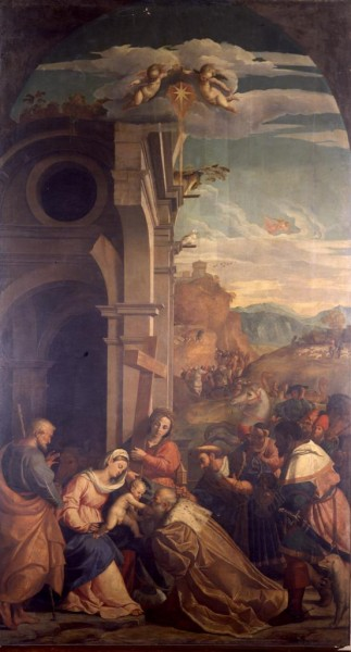 Adoration of the Magi in the Presence of Saint Helen