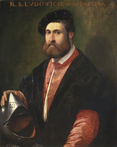Portrait of Captain Ludovico Vistarini