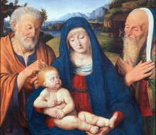 Madonna and Child with Saints Joseph and Simon