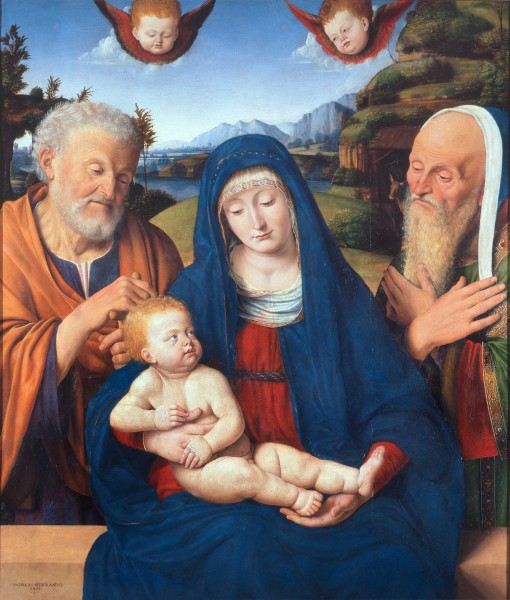 Madonna and Child with St. Joseph and St. Simeon