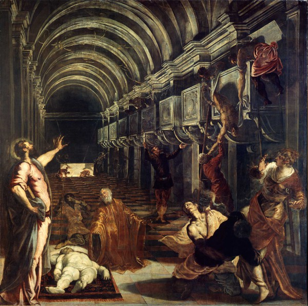 Discovery of the Body of Saint Mark