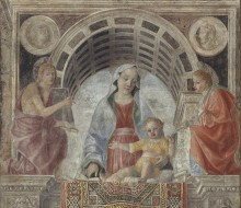 Madonna and Child with Saints John the Baptist and St. John the Evangelist