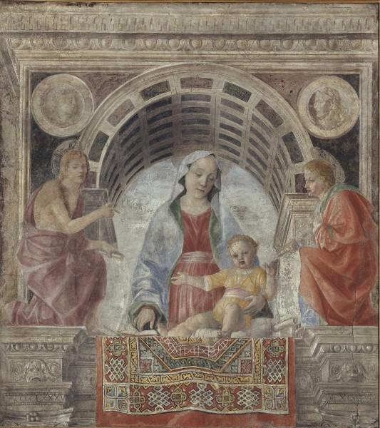 Madonna con il Bambino e i santi Giovanni Battista e Giovanni Evangelista