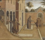 Saint Jerome Bringing the Lion to the Monastery
