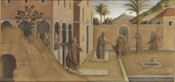 St. Jerome Bringing the Lion into the Convent