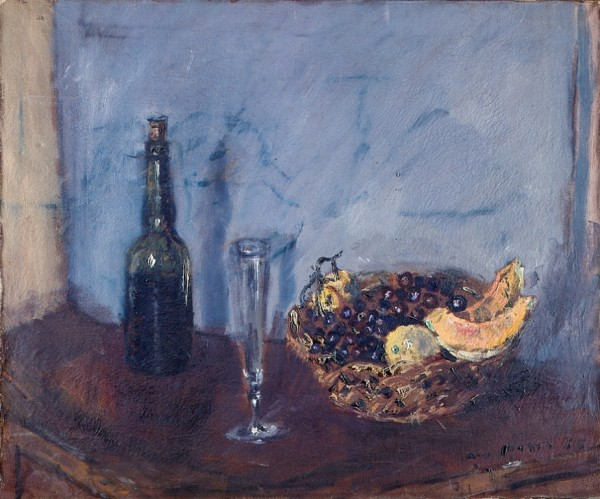 Still Life with Fruits Basket